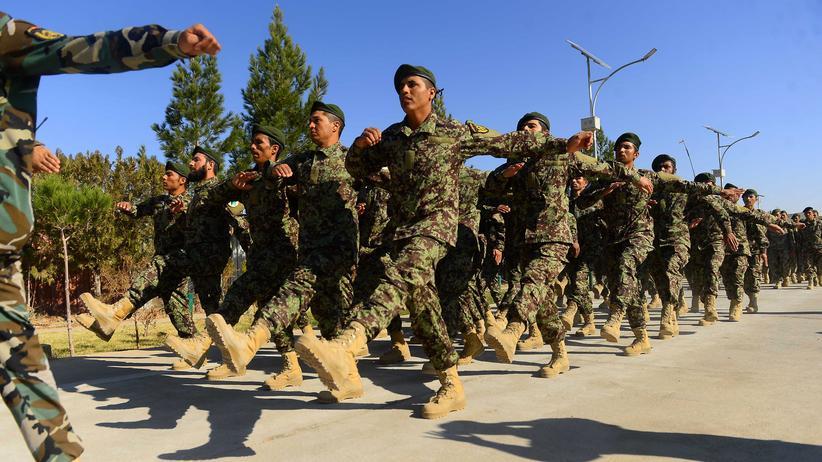 Afghanistan: Neu ausgebildete Soldaten der afghanischen Armee in der Provinz Herat