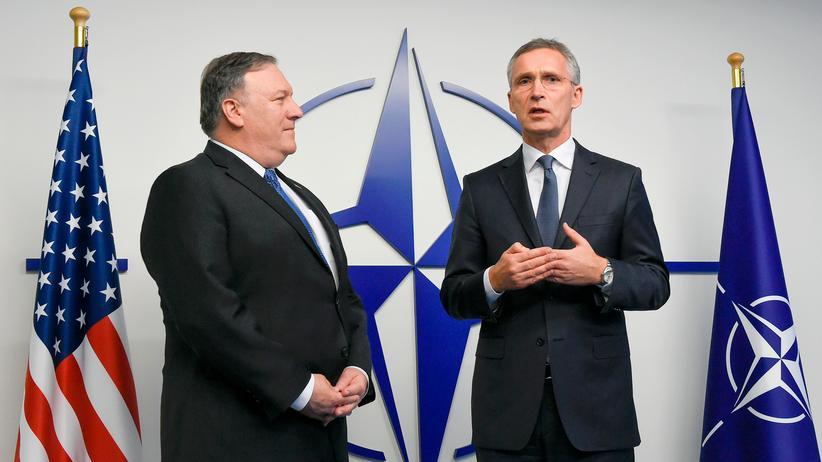 INF-Abrüstungsvertrag: Nato wirft Russland Bruch von Abrüstungsabkommen vor
