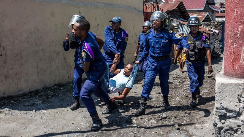 Präsidentschaftswahl im Kongo: Ausschreitungen im Kongo wegen Wahlausschluss
