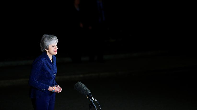Presseschau zu Theresa May: Die britische Premierministerin Theresa May