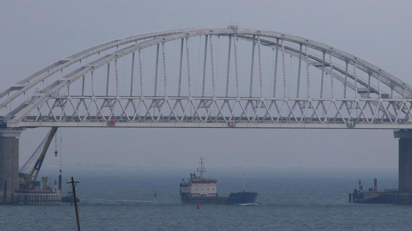 Krim-Konflikt: Ukrainische Schiffe dürfen Straße von Kertsch wieder passieren