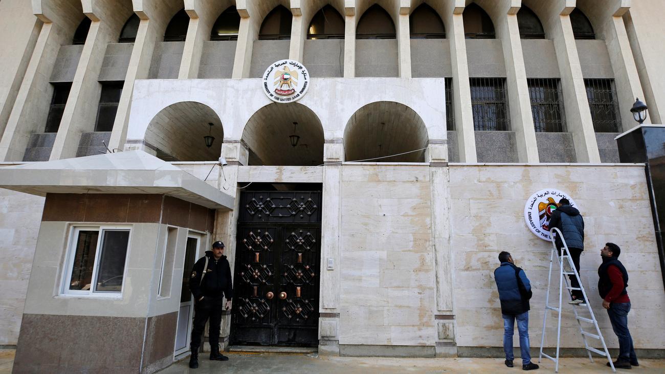 Syrien: Vereinigte Arabische Emirate eröffnen Botschaft in Damaskus wieder