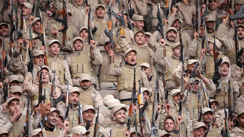 Syrien: Kämpfer der YPG im Norden von Syrien