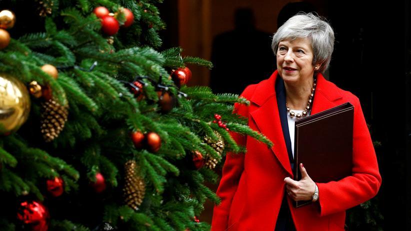 Brexit: Theresa May wirbt um Zustimmung zum Brexit-Deal