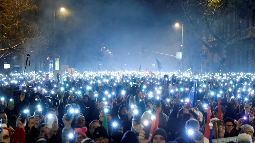 Ungarn: Proteste gegen Viktor Orbán gehen weiter
