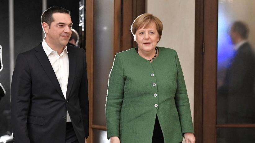 Athen : Merkel rechnet mit Rückkehr Griechenlands an Finanzmärkte