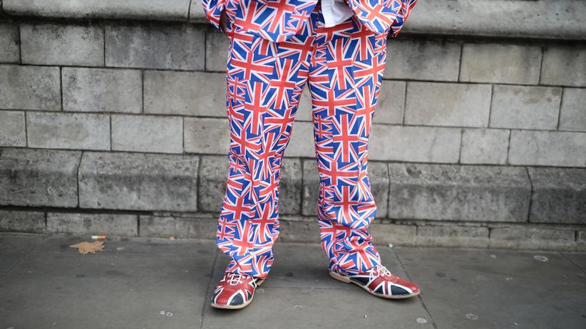 Großbritannien: Anti-Brexit-Demonstration vor dem britischen Parlament in London