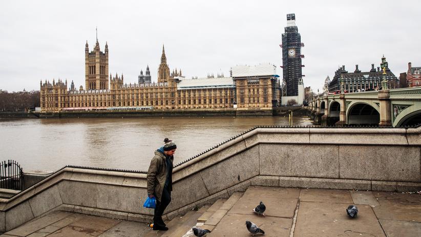 Brexit: Blick auf das britische Unterhaus – am 15. Januar stimmen die Parlamentarier über den Brexit ab.