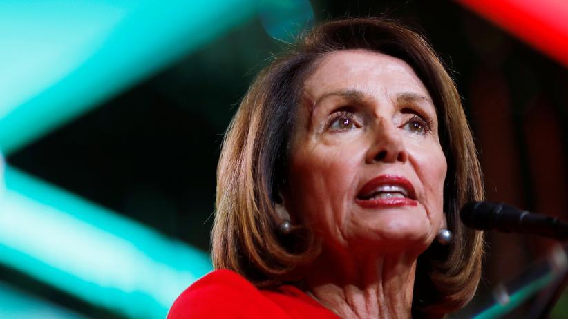 Rede zur Lage der Nation: Nancy Pelosi, Vorsitzende des US-Repräsentantenhauses