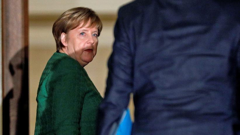 EU-Austritt: Angela Merkel bei ihrem Besuch in Griechenland