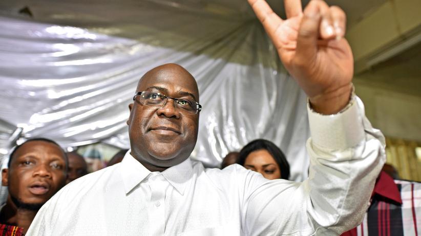 Kongo: Félix Tshisekedi als neuer Präsident vereidigt