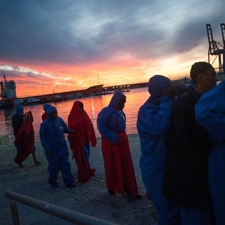 Flüchtlinge: Hoffnung Europa