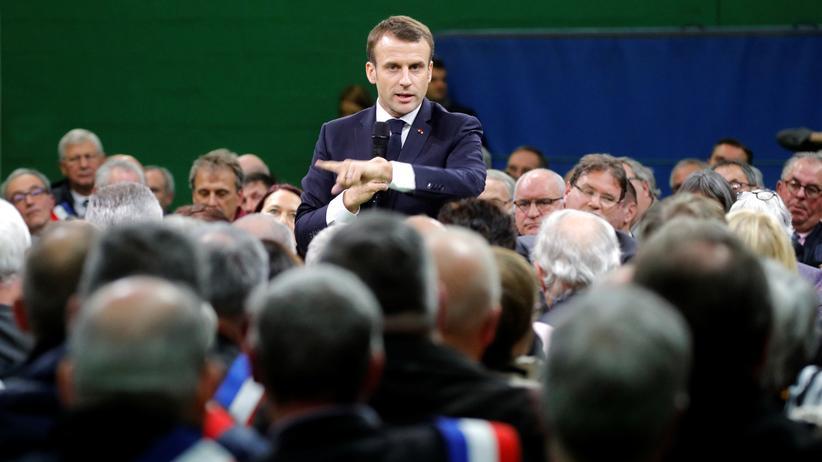 Frankreich: Standpauke für den Staatschef