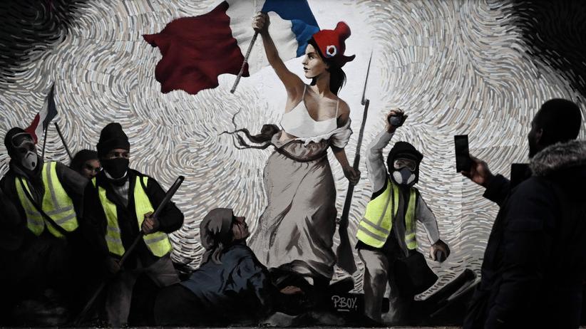 Emmanuel Macron: Keine Lösung in Sicht, stattdessen: mehr Polizei.