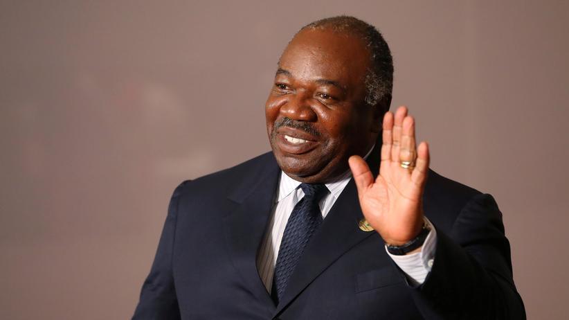 Gabun: Gabuns Präsident Ali Bongo im Juli 2018