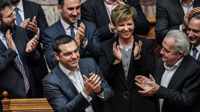 Griechenland: Alexis Tsipras kann weiterregieren