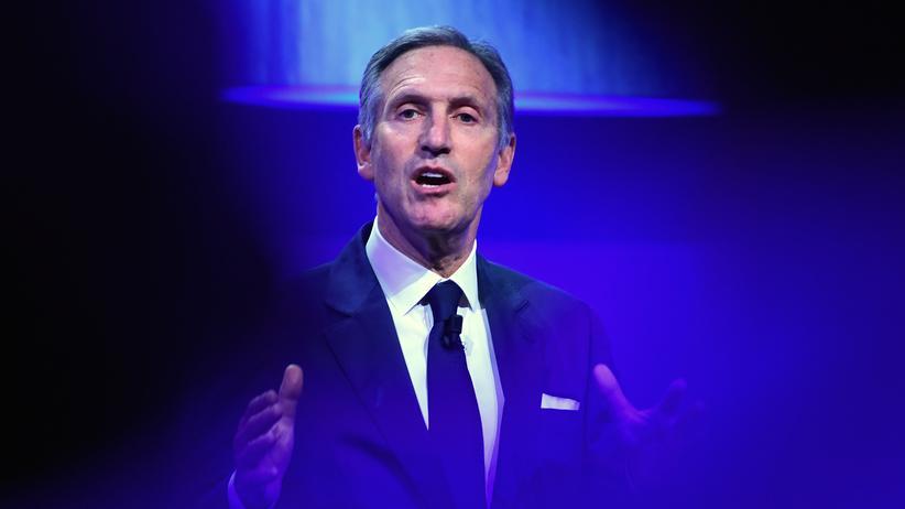 Howard Schultz: Ehemaliger Starbucks-Chef will gegen Donald Trump antreten
