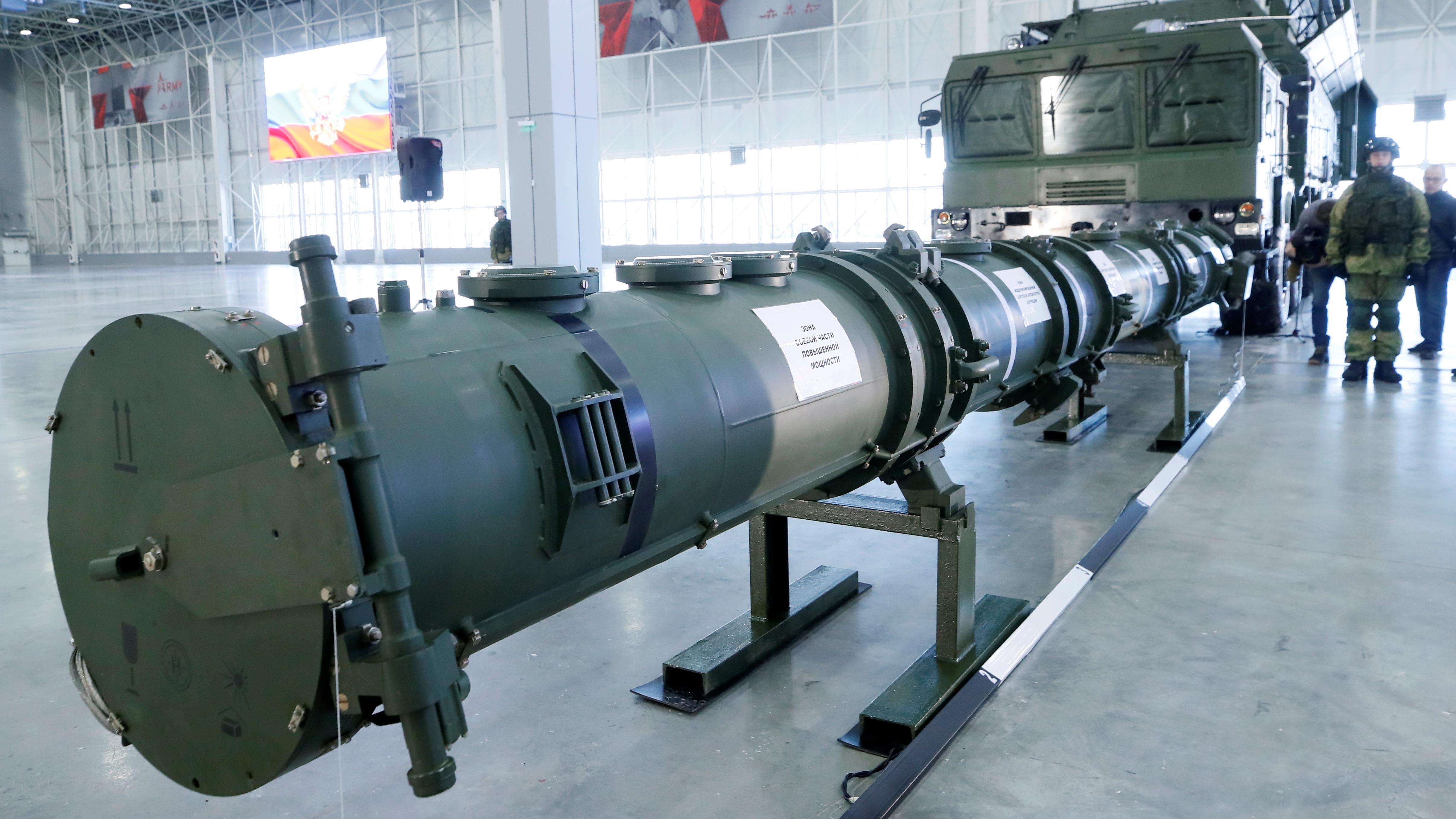 Im Raketenstreit sieht Maas Russland am Zug