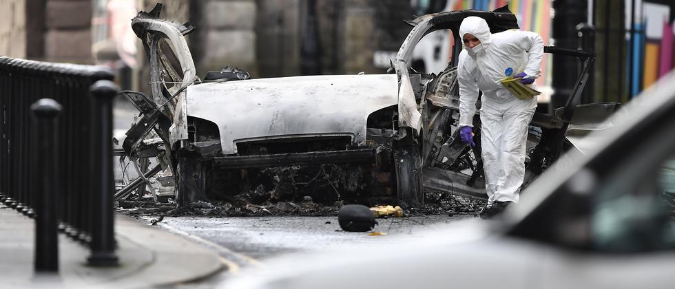"""Nordirland: """"20 Jahre Frieden sind in Gefahr"""""""