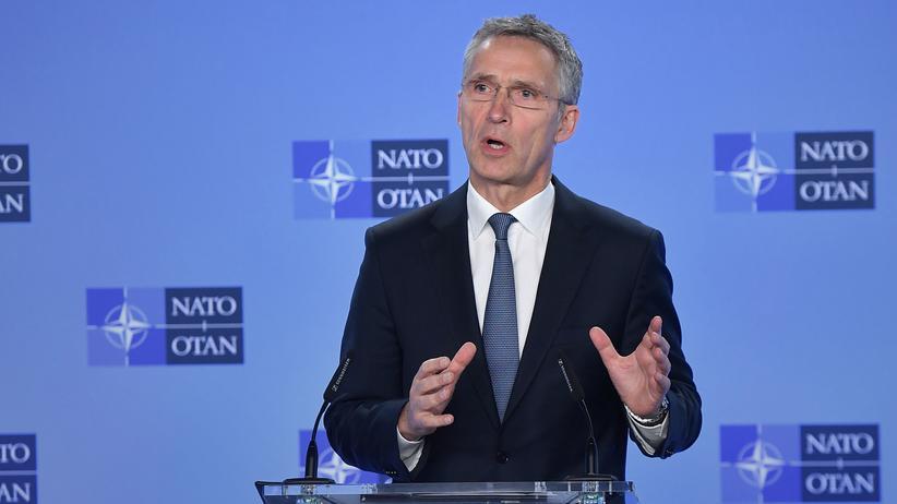 """Jens Stoltenberg: Nato-Generalsekretär lobt Trump für """"klare Botschaft"""" an Verbündete"""