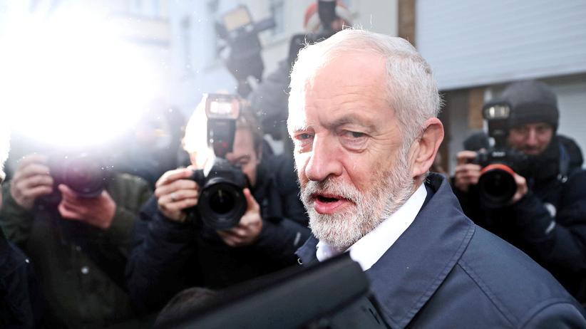 Jeremy Corbyn: Oppositionsführer Jeremy Corbyn vor dem Misstrauensvotum
