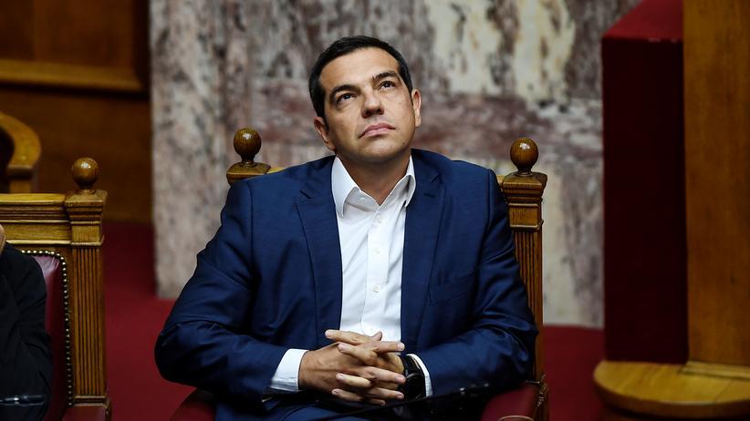 Mazedonienstreit: Griechenlands Premier Alexis Tsipras