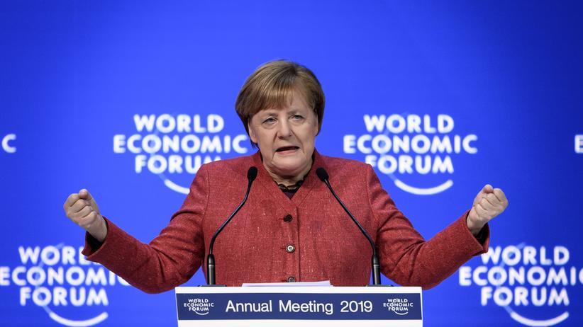 Weltwirtschaftsforum in Davos: Angela Merkel will internationale Organisationen reformieren