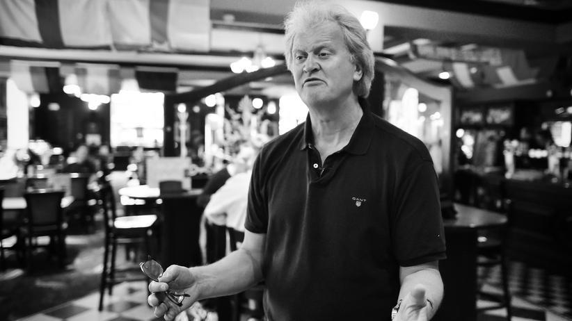 No-Deal-Brexit: Tim Martin, Gründer und Chef der Wetherspoons-Pubs, in einer seiner Kneipen (Bild von 2016)