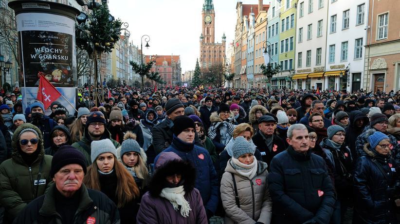 Polen : Danzigs getöteter Bürgermeister beigesetzt