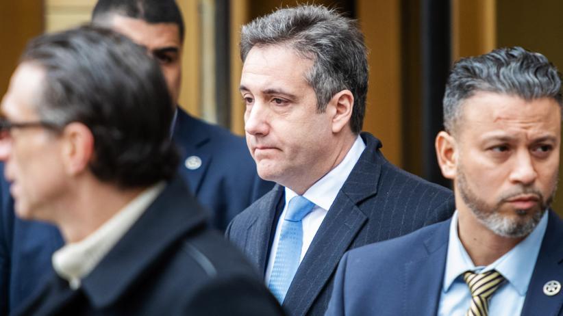 Russland-Affäre: Donald Trumps Ex-Anwalt Michael Cohen