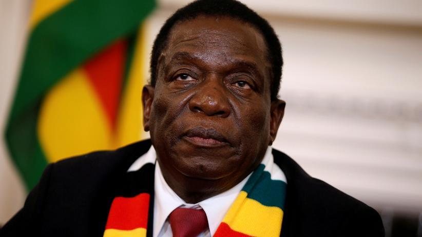 Simbabwe: Simbabwes Präsident Emmerson Mnangagwa