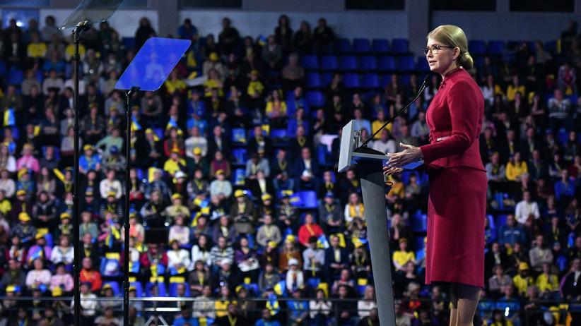 Ukraine: Julija Timoschenko will Präsidentin werden