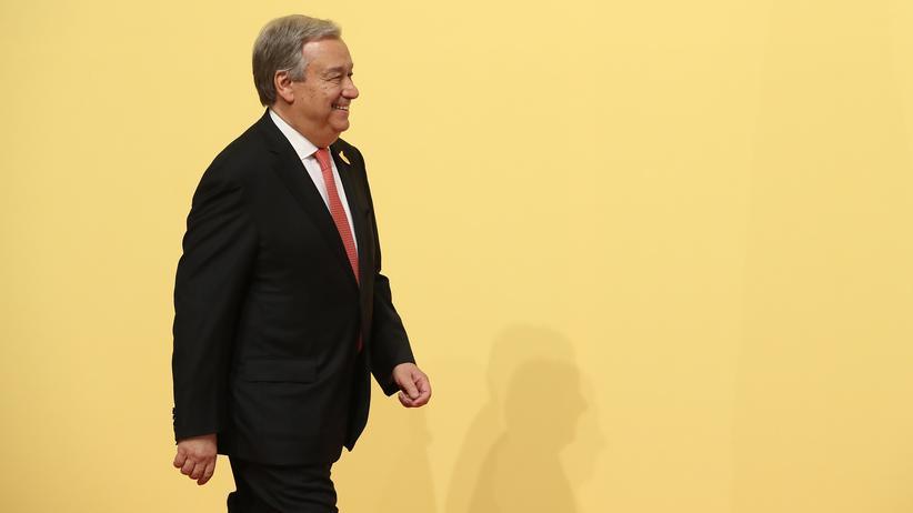UN-Generalsekretär: António Guterres erhält Karlspreis