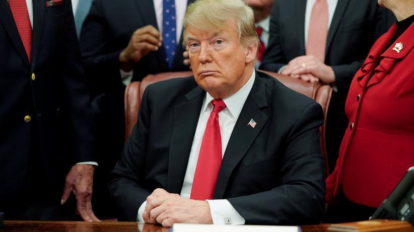 US-Haushalt: Trump will mit Kongressführern über Grenzschutz beraten
