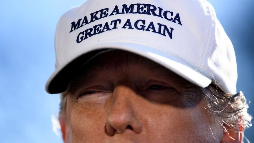 US-Haushaltsstreit: US-Präsident Donald Trump