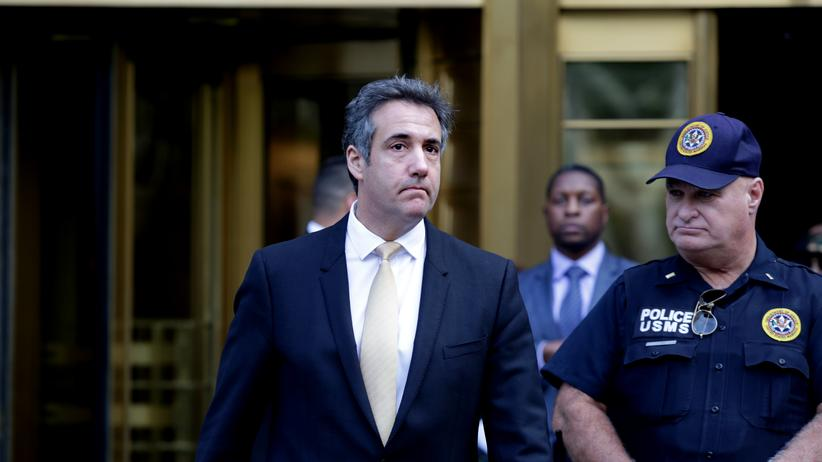 Russland-Affäre: Trumps Ex-Anwalt Cohen will vor Kongress aussagen