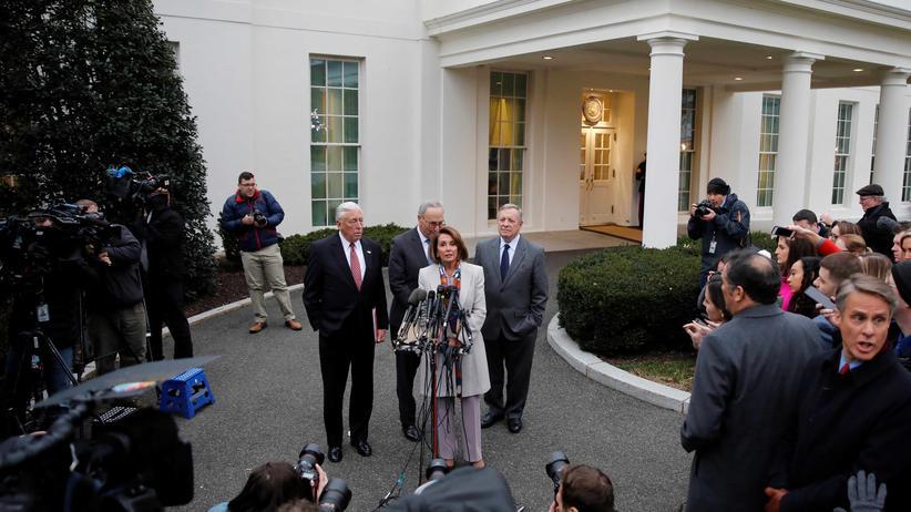 US-Haushalt: Spitzentreffen bringt keinen Durchbruch beim Shutdown