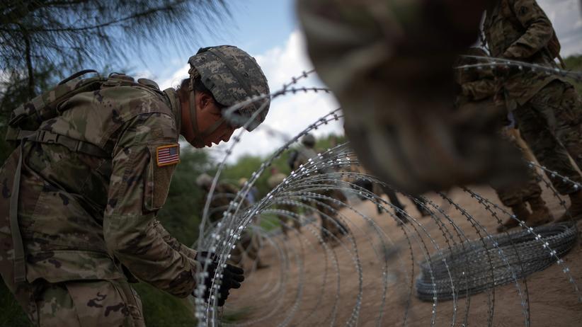 USA: Pentagon verlängert Militäreinsatz an Südgrenze der USA