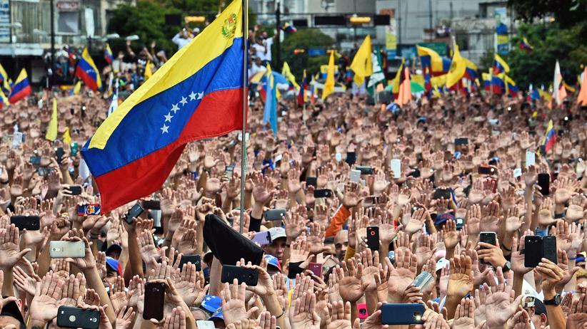 Venezuela: Großdemonstration der Opposition Venezuelas am Mittwoch in der Hauptstadt Caracas