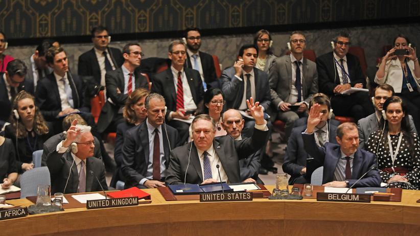 Venezuela: UN-Sicherheitsrat streitet über Anerkennung Juan Guaidós als Präsident