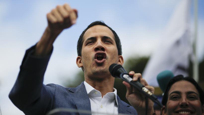 """Venezuela: Donald Trump gratuliert Juan Guaidó zu """"historischer Übernahme"""""""