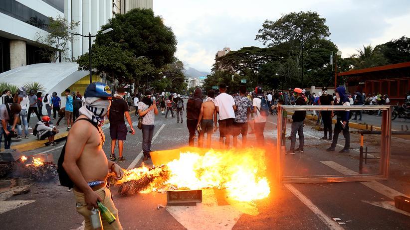 Krise in Venezuela: Viel, viel Wut