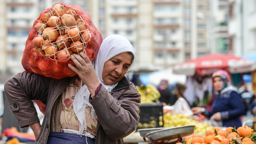 Währungskrise: In Erdoğans Zwiebelfalle