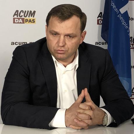 Der Oppositionspolitiker Andrei Năstase