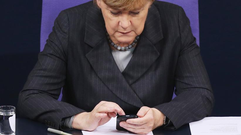 Abhöraffäre: Angela Merkel soll NSA-Überwachung als PR-Problem gesehen haben