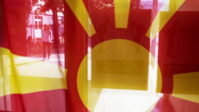 Beitrittsprotokoll: Mazedonien und Griechenland hatten Ende Januar ihren jahrzehntelangen Namensstreit beigelegt.
