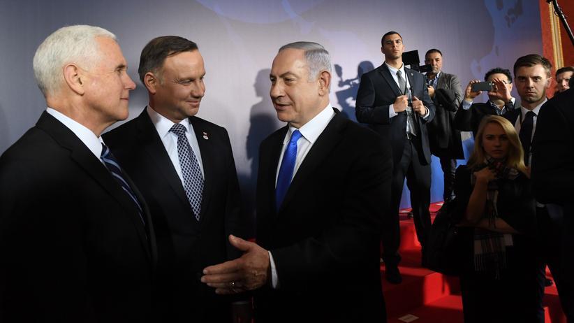 Warschau: Netanjahu bezeichnet Nahostkonferenz als historisch
