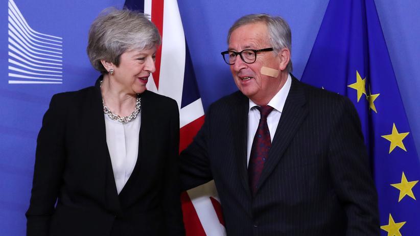 Brexit: Theresa May und Jean-Claude Juncker