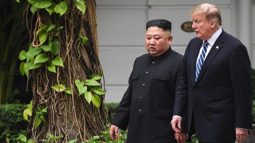 Nordkorea-Gipfel: Donald Trump und Kim Jong Un werden sich nicht einig