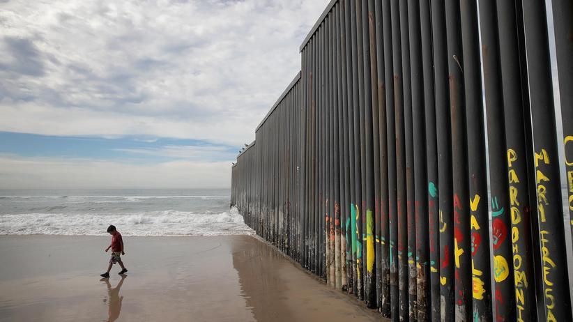 Trump Grenze